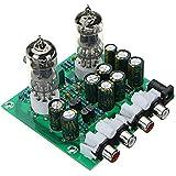Rishil World Aassembled AC 12V 1A 6J1 Preamp Tube Preamp Amplifier Board PreAmplifier Module