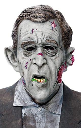 Horror-Shop W. Bush Dämon Maske (Bush-maske)