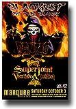 Concert Promoter984 Danzig Poster - Az 2015 Skeletons