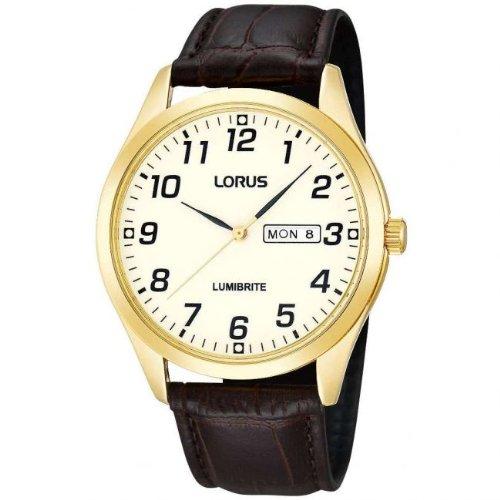 Lorus Mens Gold Date Dress RJ650AX9
