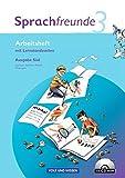 Sprachfreunde - Ausgabe Süd 2010 (Sachsen, Sachsen-Anhalt, Thüringen): 3. Schuljahr - Arbeitsheft mit CD-ROM