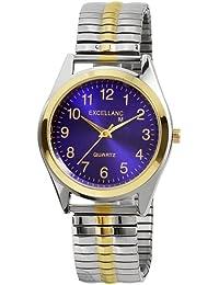 Excellanc llanc Hombre de relojes con cordón 270013000008metal