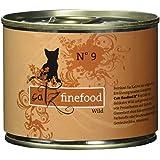 Catz finefood Katzenfutter No.9 Wild 200g, 6er Pack (6 x 200 g)