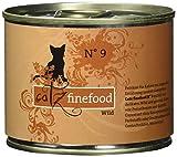 Catz finefood Katzenfutter No.9 Wild