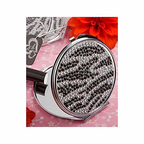 Zebra Imprimer chic miroir compact