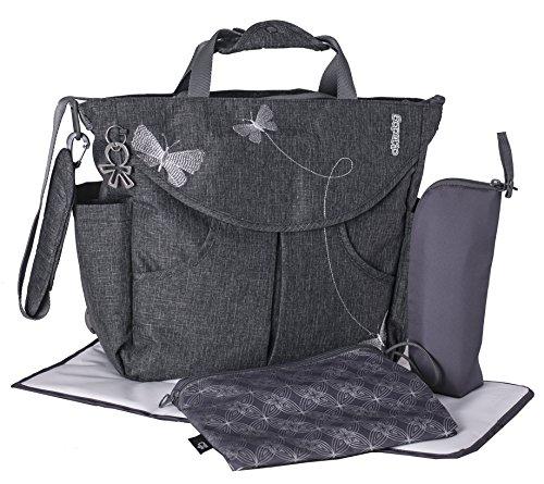 okiedog-sumo-36011-bolso-cambiador-mochila-envoltura-incl-accesorios-papillon-gris