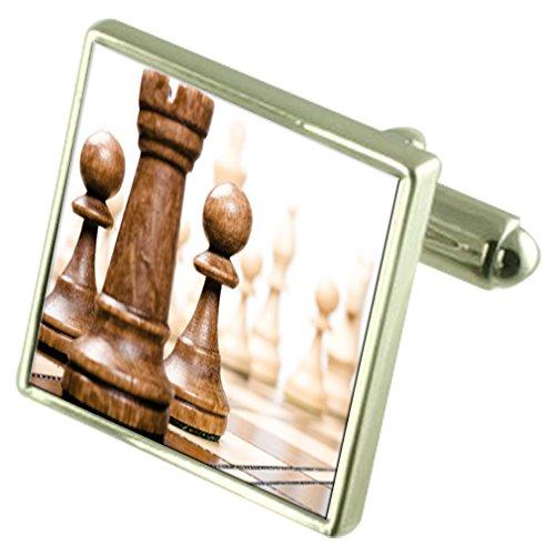 Select Gifts Tablero de ajedrez Gemelos con Bolsa