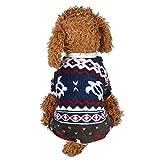Goldatila Haustier Kleidung für Haustiere Haustier Kleidung Welpen Rundhals Shirt Vierbeinige Kleidung Herbst und Winter