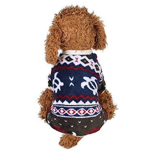 (Timogee Hund Kapuzenpulli Kleidung Haustier Katze Sweatshirt Mäntel Kapuzenpullover Kostüm für Halloween Weihnachten)