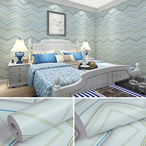 lsaiyy Wasserdicht PVC Selbstklebende Streifen einfache Aufkleber Wohnzimmer tapete tapete- 45cmx10m