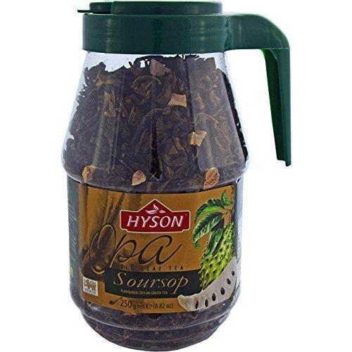 HYSON TEE Grüner loser Tee exklusiver Ceylon Tea aus Indien Sri Lanka (Anoda Grüner Tee 250g.)