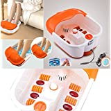 Amazing Foot Spa Footbath & Roller Massager Pain Relieve