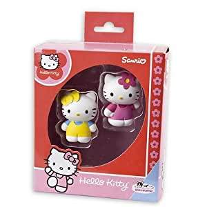 Hello Kitty Figuren-Set Kitty & Mimi - Actionfigur