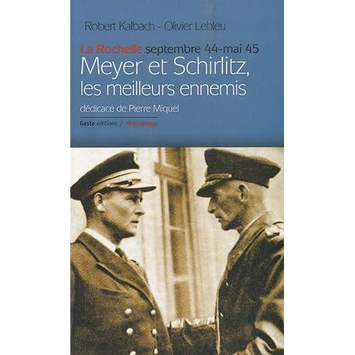Meyer et Schirlitz les Meilleurs Ennemis