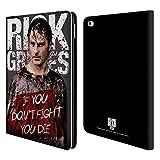 Head Case Designs Offizielle AMC The Walking Dead Blutiger Poncho Rick Grimes Erbschaft Brieftasche Handyhülle aus Leder für iPad Air 2 (2014)