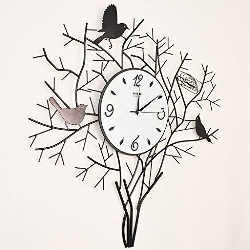 SESO UK- Orologio da parete creativo da parete artistico da parete Soggiorno grande tavolo appeso orologi di moda silenziosi