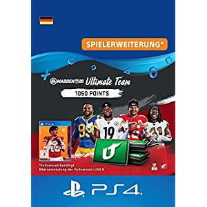 Madden NFL 20 – 1050 Ultimate Team Points – 1050 Ultimate Team Points DLC | PS4 Download Code – deutsches Konto