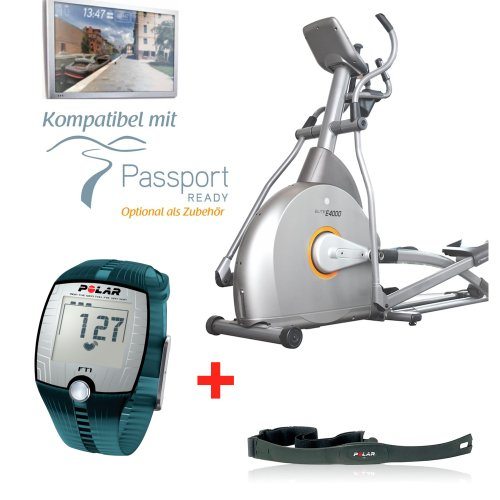 Horizon Fitness Elite E4000 Crosstrainer – inklusive FT1 Polar Pulsuhr und T31 Brustgurt - 2