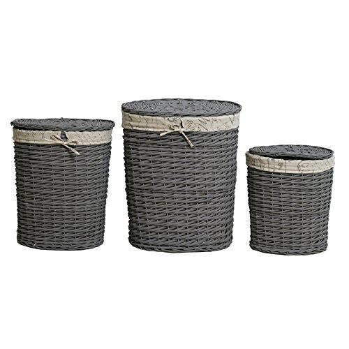 rebecca-srl-set-3-ceste-contenitori-ovali-foderate-tessuto-vimini-grigio-beige-retro-arte-povera-bag