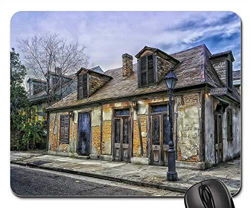 Rectangle Non-Slip Rubber Mouse Pad(9.45x7.8x0.12 Inches) Lafitte Blacksmith Shop New Orleans Louisiana