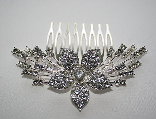 Preisvergleich Produktbild L.O.S Tiara Haarschmuck Kristall Diadem Hochzeit Braut Prinzessin Kommunion Strass Krone MK7
