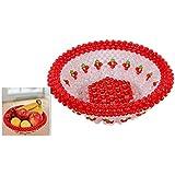 Fruta Placa Acabado DIY Artesanías Manual del producto Tejer moldeado Inicio Decoración Creativa Cereza Grande , 2