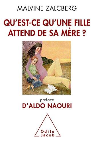 Qu'est-ce qu'une fille attend de sa mère ?: Préface d'Aldo Naouri par Malvine Zalcberg