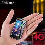 JJA 2019 Melrose S9 PLUS Super Mini Pocket Smartphone Playstore 4G LTE Telefono cellulare ultra sottile Android 7.0 Cellulare 2,45 pollici 2 GB 8 GB Batteria integrata nera Design elegante