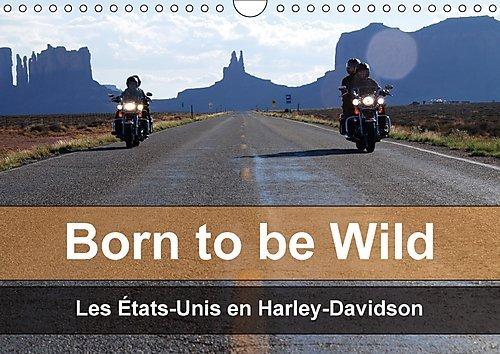 Price comparison product image Born to be Wild - Les Etats-Unis en Harley-Davidson 2017: Les Magnifiques Paysages du Sud-Ouest Americain vus de la Selle d'Une Harley (Calvendo Mobilite)