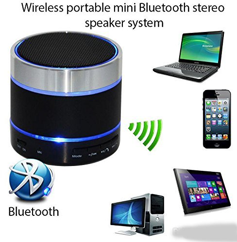 mobicell Spice Boss Trio M 5025 COMPATIBLEMini Bluetooth Wireless Speaker (S10)/Portable Audio Player Play FM Radio, audio from TF card and Auxiliary input - Multicolor  available at amazon for Rs.499