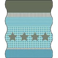 Lässig pañuelo Multifuncional para niños Twister de Forro Polar Starlight Verde, Talla única, LTEXT22048