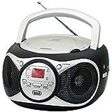 Trevi 051200 Radio portable Noir, Argent