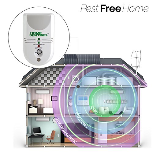 Image of 5 in 1 Upgraded Powerful Home Sentinel Ultrasonic Pest Repeller Pest Control And Repellent AGAINST Rats| Mice| Spiders| Rodents and more UK PLUG
