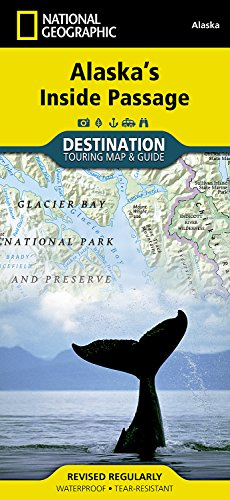 Alaska's Inside Passage (National Geographic Destination Map)