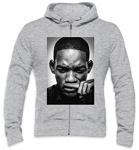Will Smith Blows Coke Cocaine Drugs Fresh Prince Mens Zipper Hoodie XX-Large