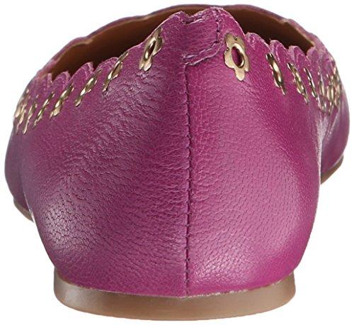 Nine West mintchip Leather Ballet Flat purple