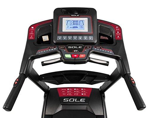 Tapis roulant Sole Fitness F65 AC Bluetooth 4.0/7.0 HP 22km/h 585x1525 3 spesavip