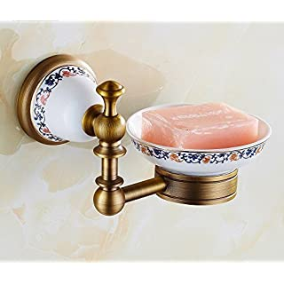 AUSWIND Antique Copper Soap Dish Wall Mounted Ceramic Bathroom Accessories by AUSWIND
