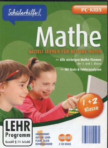 Schülerhilfe! ~ Mathe - 1.+2. Klasse - Gezielt lernen für bessere Noten (2 CD-ROMS)(Lehr-Programm Gemäß §14 JuSchG) [CD-ROM] -