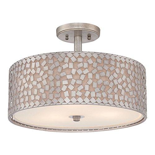 Confetti Tre Luce semi-incasso luce di soffitto - Old Silver Confetti Confetti