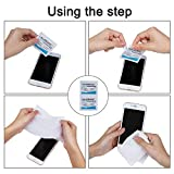 Pre-Moistened Lens Wipes ALIBEISS Screen Wipes for Glasses, Camera, iPad, Tablets, Smartphone, Screens and Other Delicate Surfaces,Pack of 300