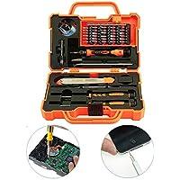 Elettronico 45in 1Set di strumenti di precisione cacciavite Set di riparazione Tool Kit Fix Kit di attrezzi per la riparazione strumento di manutenzione riparazione Smontare strumento Combo Fix Smartphone MacBook Computer e altri dispositivi elettronici