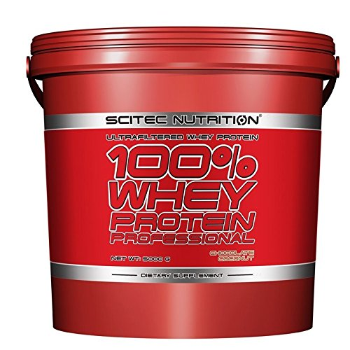 Scitec nutrition - 100% whey professional 5 kg fragola-cioccolato bianco