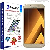 G-POWER ®2.5D 0.3mm Flexible Tempered Glass Screen Protector for Samsung Galaxy A5 2017 with Installation Kit