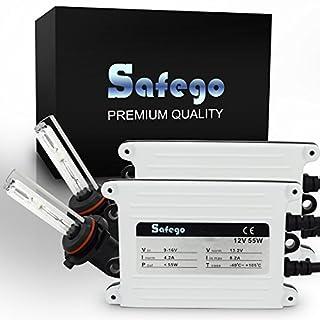 Safego HKA1255-70BW-9005-6K 55W HB3 6000K HID Xenon Umbausatz Lampe Schlank HID XENON Scheinwerfer Nachrüstsatz Set