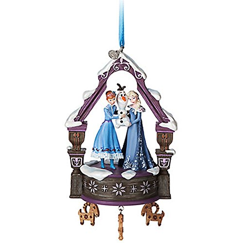 Disney's Olaf's Frozen Adventure Singing Sketchbook Ornament Christmas Decoration