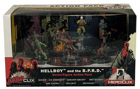 Hero Clix: Hellboy and BPRD Action Pack [englischsprachige Version]