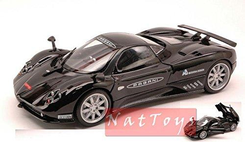 motormax-mtm73370bk-pagani-zonda-f-2009-nurburgring-black-124-die-cast-model