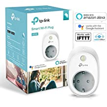 TP-Link HS100 Wi-Fi Smart Plug (White) - Control Your Devices from Anywhere, No Hub Required, Works with Amazon Alexa and Google Assistant