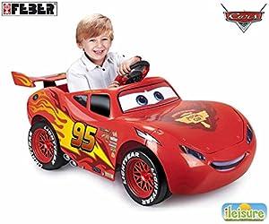 FEBER- Cars Lightning Mcqueen 3 6V LIG & SOU.UK, (Famosa 800011186)